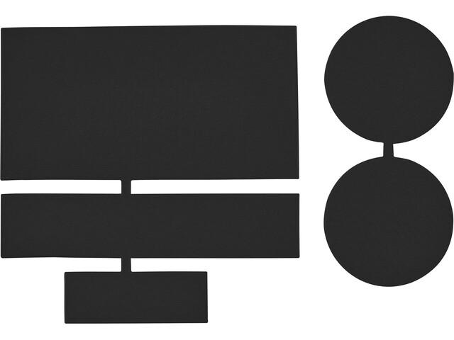 CAMPZ Nylon Reparatie Patches 5 stuks, black